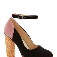 ModCloth Quirky Superlative Sundae Heel