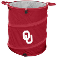 Oklahoma Sooners NCAA Collapsible Trash Can
