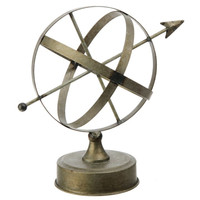 Rustic Retreat Collection Bronze Armillary Sphere 11-1/2-in