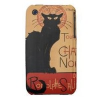 Tournée du Chat Noir, Théophile Steinlen Iphone 3 Case-mate Case