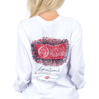 Lauren James: Arkansas Perfect Pairing Tee {White}