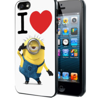 I Love Minions Samsung Galaxy S3 S4 S5 Note 3 , iPhone 4 5 5c 6 Plus , iPod 4 5 case