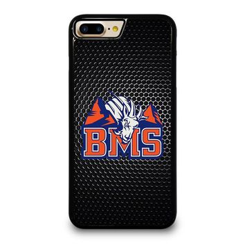 BMS BLUE MOUNTAIN STATE iPhone 4/4S 5/5S/SE 5C 6/6S 7 8 Plus X Case