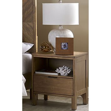 Strategy Transitional Nightstand Jute