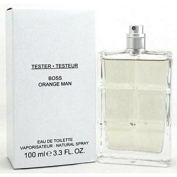 Boss Orange Man Cologne by Hugo Boss 3.3 oz.EDT Spray Tester
