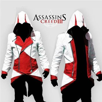 Halloween costumes Assurance 3 New Kenway Men's jacket anime cosplay clothes assassins creed costumes for boys kids