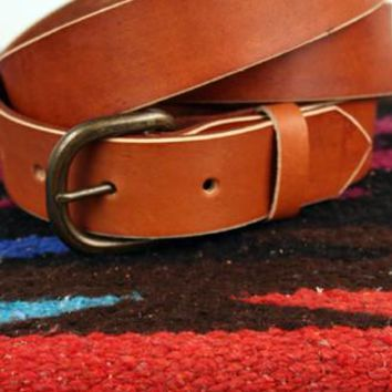 *Customizable* Classic Leather Belt