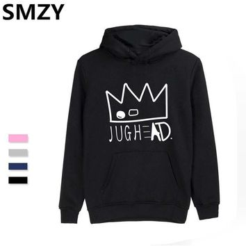 SMZY Riverdale Jughead Jones Hoodies Men Fashion Plus Size Hoodies Sweatshirt Tops Pullovers Cotton Casual Funny Print Clothes