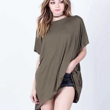 Basic Oversized Tunic