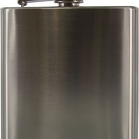 6 oz. Stainless Steel Hip Flask (Pkg. of 5)