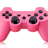 Six-Axis DualShock Wireless Controller for PlayStation 3 (Pink)