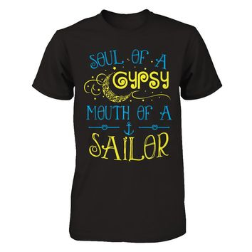 Soul Of A Gypsy Mouth Of A Sailor V1 T-Shirt Men