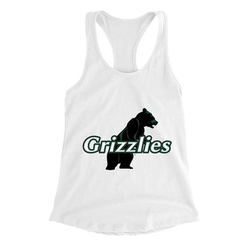 Official NCAA Adams State University Grizzlies - PPASU09 Womens Racerback Tank Top