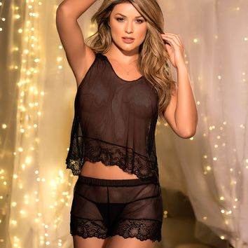 Cami Set with G-String Panty