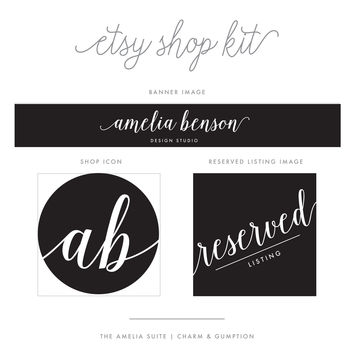 Etsy Shop Kit | Amelia