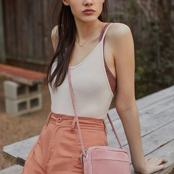June Suede Crossbody Bag | Urban Outfitters