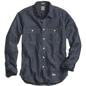 Dockers Slim Fit Alpha Chambray Sport Shirt