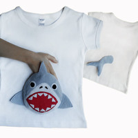 Shark Shirt/Kids Shark T-shirt/Baby Boy Shark//Girl Shark Shirt//Shark Clothes/Shark Clothing/Shark/Boys Shark Shirt/Boys Shark T-shirt