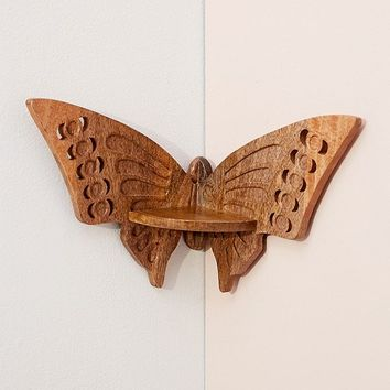Butterfly Corner Shelf | Urban Outfitters