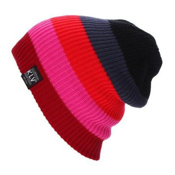 PEAP78W New Outdoor Camping Hinking Womens Warmer Cap Men Women Baggy Winter Hat Ski Slouchy Chic Cap Sombrero