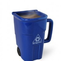 BigMouth Inc The Recycling Bin Mug