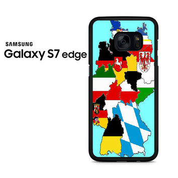 A Map Of Germany Samsung Galaxy S7 Edge Case