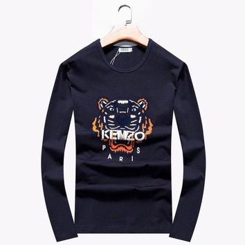 Brand:kenzo  Gender: Unisex Color:greyblackblue  Season:spring Autumn Winter  Style: Casual Sport  Material: Cotton