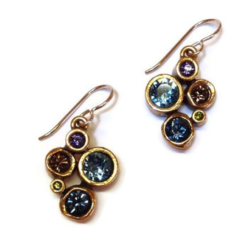 Patricia Locke Jewelry - Take Five Earrings in Dune