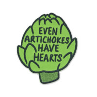Artichoke Iron On Patch