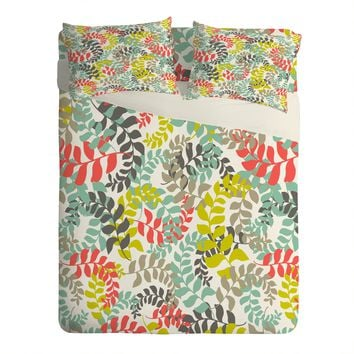 Heather Dutton Undertow Coral Sheet Set Lightweight