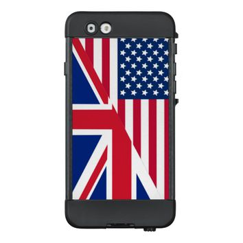 American and Union Jack Flag LifeProof NÜÜD iPhone 6 Case