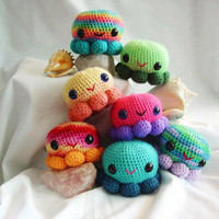 OctoSqueedle -Funds Diabetes Research Amigurumi Octopus toy