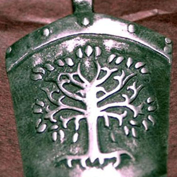 Lord of the Rings The Gondor shield charm pendant