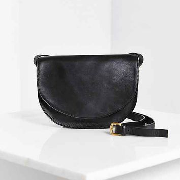 Vagabond Half-Moon No. 21 Saddle Bag- Black One