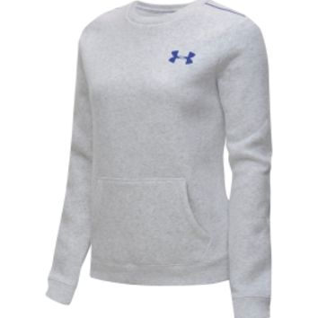 Under Armour Women's Essential Cotton Crewneck Sweatshirt | DICK'S Sporting Goods