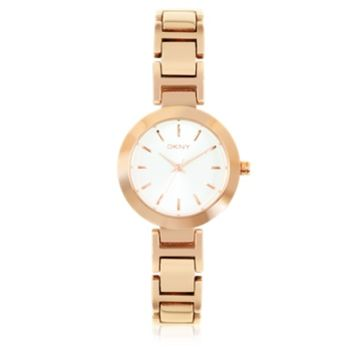 DKNY Designer Women's Watches Stanhope Rose Gold Tone Stainless Steel Women's Watch