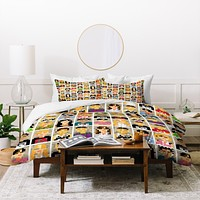 Raven Jumpo Anonymous Duvet Cover
