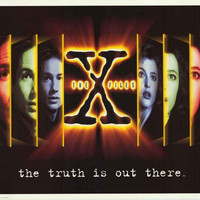X-Files Truth Is Out There 1995 Poster 25x35
