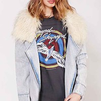 Somedays Lovin Scando Denim Coat- Blue