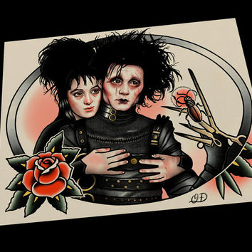 Edward and Lydia Art Print
