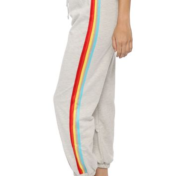 Brooklyn Karma Colorblock Side Stripe Joggers