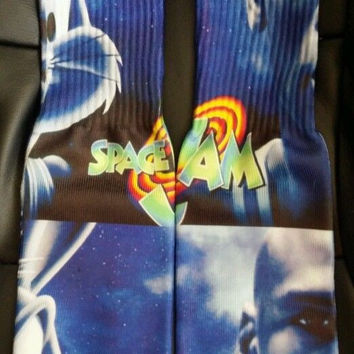 SPACE JAM SOCKS