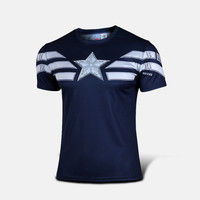 Marvel Captain America sport T shirt