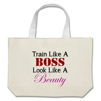 Train Like A Boss Workout Bag from Zazzle.com