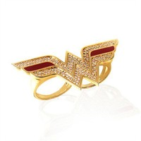 Wonder Woman Logo Ring