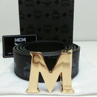 Men's MCM Leather Belts
