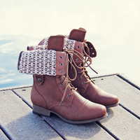 The Laced Sky Boots