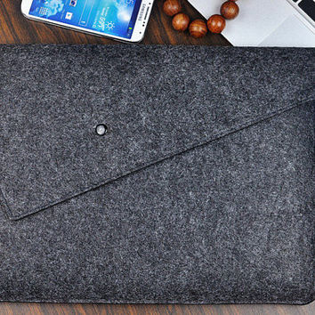 MacBook pro 17 case,Felt laptop case,laptop bag 17 inch,MacBook pro sleeve, 17 inch laptop sleeve ,Custom Other Size.