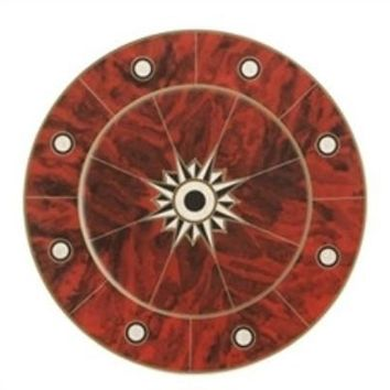 MOTTAHEDEH Tortoise Shell Service Plate by Tony Duquette