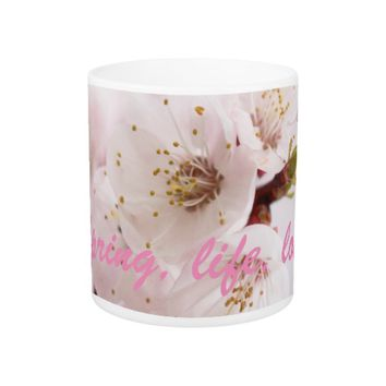 Spring, life, love coffee mug